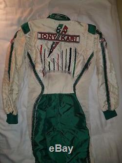 Tony Kart Suit sparco size 52