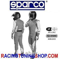 Tuta Auto Omologata Fia Energy Racing Suit Fia 8856-2000 Tg 48 Rally Equipment