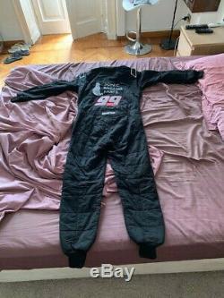 Tuta Auto Racing Suit Sparco Sprint Rs-2 Fia 54 Nero Black Personalizzata Gt-r