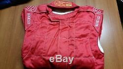 Tuta Auto Sparco M-5 Omologata Fia Rossa Racing Suit Overall Fia 0011261rs