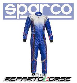Tuta Kart Sparco Prime Ks-10 Azzurro Cik- Fia N2013.1 002306