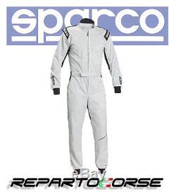 Tuta Kart Sparco Track Ks-1 Silver 002337