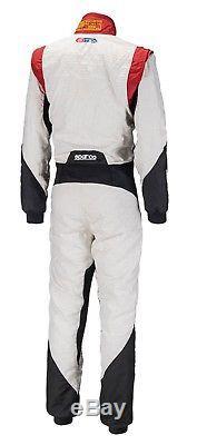 Tuta Sparco Eagle Rs8.1 Tg 52 Hocotex Racing Suit Fia 8856-2000 Blue