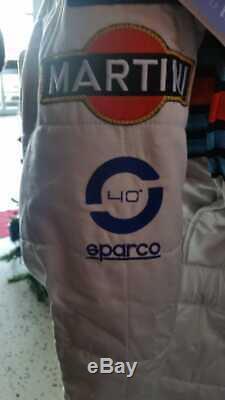 Tuta Sparco Lancia Martini Racing Miki Biasion Limited Edition Tuta N° 5 /30