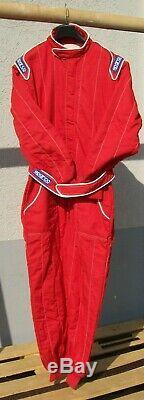 Tuta Sparco Modello Sprint 6 Colore Rosso Taglia 56 Omologazione 8856 2000
