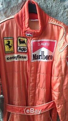 Tuta Suit Overall Sparco Ferrari F1 Alesi 1991