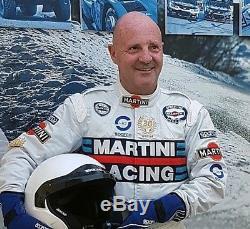 Tuta Suit Overall Sparco Martini Racing Miki Biasion 30° Anniversario Tg-size 52