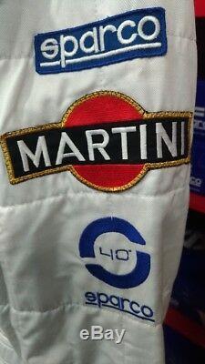 Tuta Suit Overall Sparco Martini Racing Miki Biasion 30° Anniversario Tg-size 56