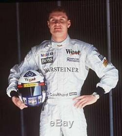 Tuta Suit Overall Sparco Mclaren Mercedes F1 Coulthard 1998