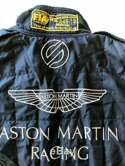 USED 2016 ASTON MARTIN RACING IMSA WEC SPARCO RACESUIT Size 56 FiA 8856-2000