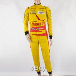 Used Aston Martin Racing Sparco Race Suit Yellow (Ex Richie Stanaway) size 5