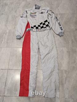 Used Mini World Rally Championship Team Sparco Drivers Race Suit