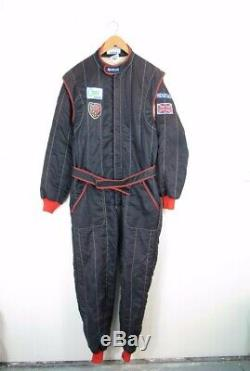 Vintage 1986 Sparco FIA STANDARD RACE SUIT All in One Racewear BARC Size 56