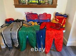 Vintage Sparco Collection Full Body Racing Suit & Matching Duffel-Shoes & More