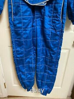 Vintage Sparco MOD R508 EN340 Size 60 Fire Suit Coveralls Very Nice