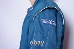 Vintage Sparco Racing Suit Made in Italy Flame Resistant Nomex aramid size 58