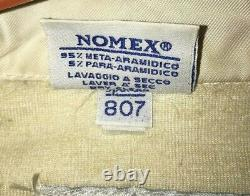Vintage Sparco Racing Suit, NOMEX, Brown Tan SCCA FIA Made in Italy SIZE 56